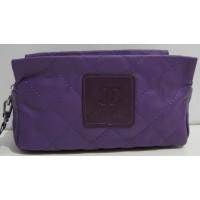 Женская стёганая косметичка (фиолетовая ) 17-3-073