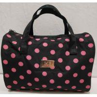 Женская косметичка-сумочка (чёрная) 19-08-039