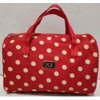 Женская косметичка-сумочка (красная) 19-08-039