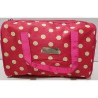 Женская косметичка-сумочка (малиновая) 19-08-039