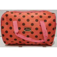 Женская косметичка-сумочка (коралловая) 19-08-039