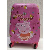 Детский дорожный пластиковый чемодан    20-11-372