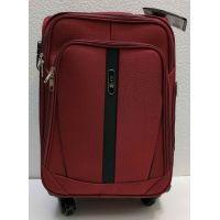 Тканевой чемодан Fly  маленький (бордовый)  21-06-060