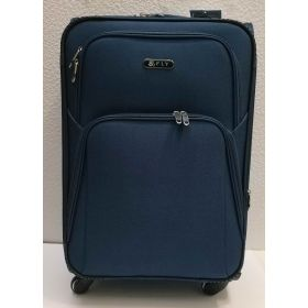 Тканевой чемодан Fly большой (синий)  21-06-169