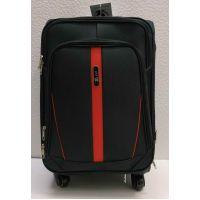 Тканевой чемодан Fly маленький (чёрный)  21-06-171