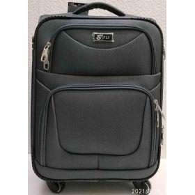 Тканевой чемодан Fly  маленький (серый)  21-06-171