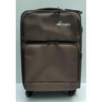 Тканевый чемодан Omaska маленький (коричневый) 21-08-003