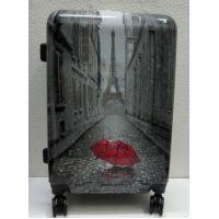 Дорожный пластиковый чемодан (средний)  21-08-014