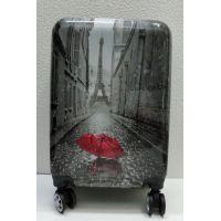 Дорожный пластиковый чемодан (маленький)  21-08-015