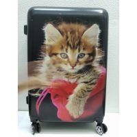 Дорожный пластиковый чемодан (большой)  21-08-016