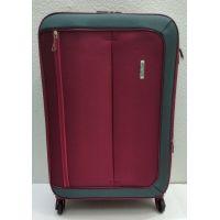 Тканевый чемодан Verona  средний (бордовый)  21-08-027