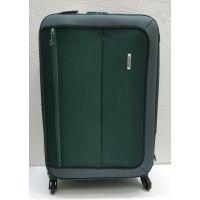 Тканевый чемодан Verona  средний (зелёный)  21-08-027