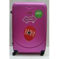 Дорожный пластиковый чемодан CRAVITT большой (малиновый) 21-08-029