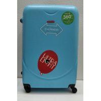 Дорожный пластиковый чемодан CRAVITT большой (голубой) 21-08-029