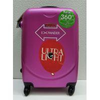 Дорожный пластиковый чемодан CRAVITT маленький (малиновый) 21-08-031