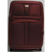 Дорожный тканевый чемодан (средний-бордовый) 19-03-019