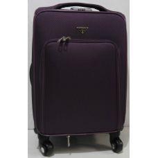 Дорожный тканевый чемодан  ( фиолетовый маленький) 19-06-032
