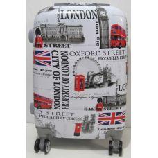 Дорожный пластиковый чемодан (маленький - London) 19-06-035