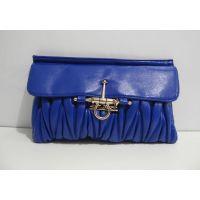 Стёганый клатч Mio Mio (синий) 16-11-025