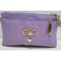 Женский  клатч на два отделения (фиолетовый)18-05-062