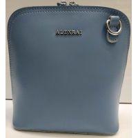 Женский кожаный клатч Alex Rai (голубой) 21-03-033