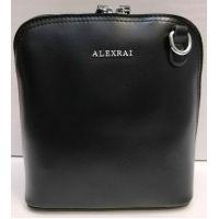 Женский кожаный клатч Alex Rai (чёрный) 21-05-024