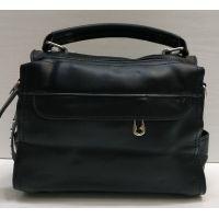 Женский клатч -рюкзак (чёрный) 21-06-099