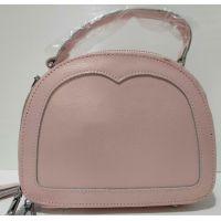 Женский кожаный клатч (розовый) 20-07-001