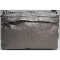 Женский клатч-сумка (серебряный) 19-02-025