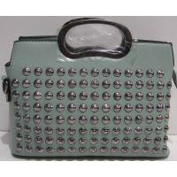 Женская стильная сумочка-клатч (мятная) 19-03-043