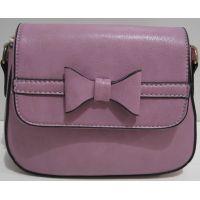 Женский небольшой клатч (фиолетовый) 19-03-049