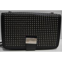 Женский клатч с заклёпками (чёрный) 19-03-058