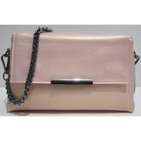 Женский кожаный клатч Myriam (розовый перламутровый) 19-04-020