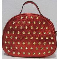 Женский клатч с шипами  (красный)19-06-025