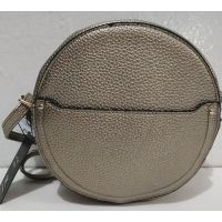 Женский клатч-таблетка (тёмно-серебряный) 19-07-002