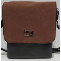 Женский клатч-планшет (коричневый) 19-08-071