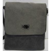 Женский клатч-планшет (серый) 19-08-071