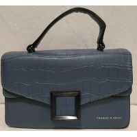 Женский стильный клатч (синий) 20-01-017