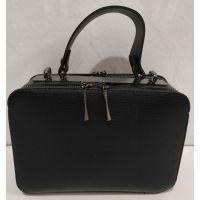 Женский клатч-коробка  (чёрный) 20-01-064