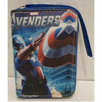 Детский кошелёк для мальчика на молнии (Капитан Америка) 20-11-310