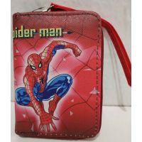 Детский кошелёк для мальчика на молнии (Человек-Паук-4) 20-11-310