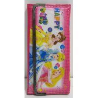 Детский кошелёк на кнопке-магните (Принцессы Диснея-2) 17-5-058