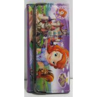 Детский кошелёк на кнопке-магните (Принцесса София) 17-5-058