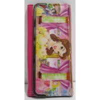 Детский кошелёк на кнопке-магните (Принцессы Диснея-3) 17-5-058