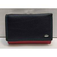 Женский кожаный кошелёк Dr.Bond  (сине-розовый) 21-05-002