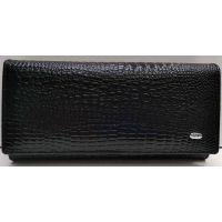 Женский кожаный кошелёк Sergio Torretti (чёрный) 21-08-126