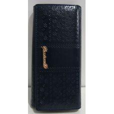 Женский классический кошелёк (тёмно-синий) 17-02-088