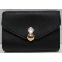 Небольшой раскладной кошелёк (чёрный) 18-03-015
