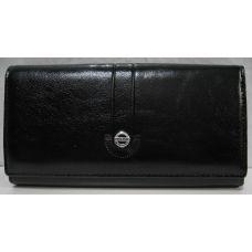 Женский классический кошелёк на магните (чёрный) 19-05-086