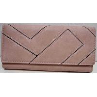 Женский классический кошелёк (пудра) 19-02-004